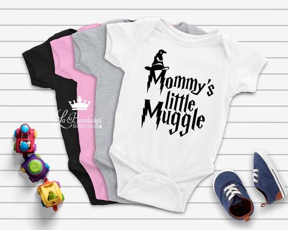 Always Mommy/'s Little Muggle Harry Potter Baby Bodysuit Gerber Onesie