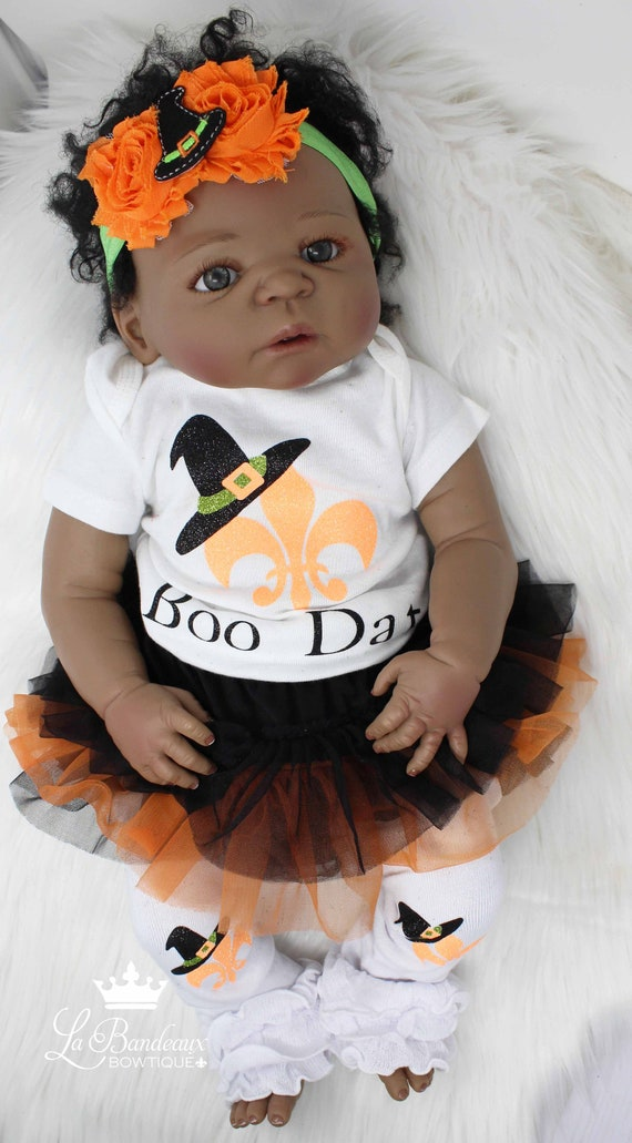 Boo Dat New Orleans Saints Louisiana Baby Girl Halloween Outfit Girl S Halloween Outfit Saints Louisiana Shirt Witch Halloween