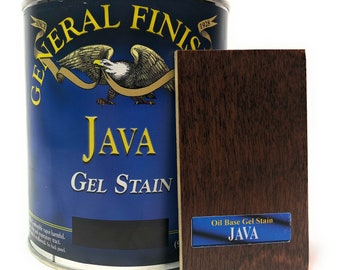 General Finishes Gel Stain -Java- Quart-Free Shipping