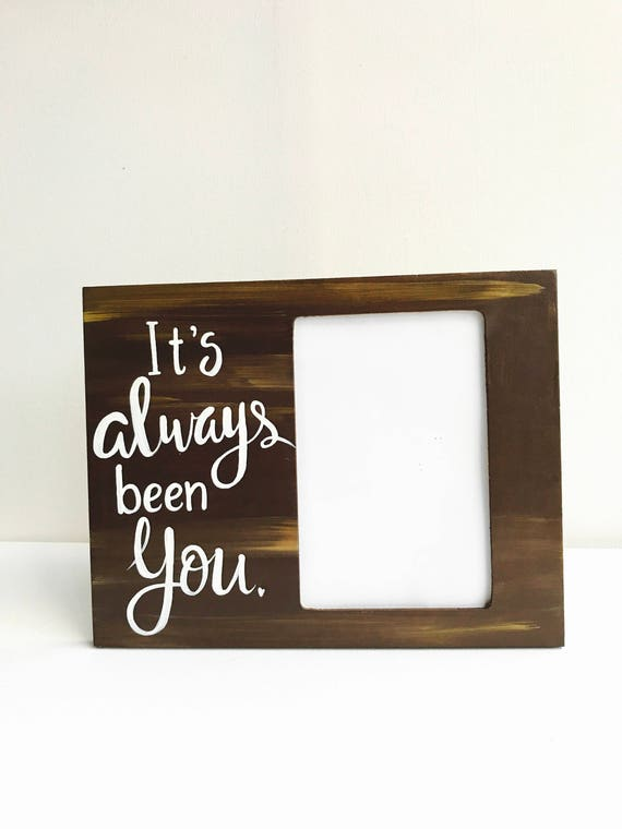 Valentines Day Gift Love Picture Frame Gift For Him Etsy