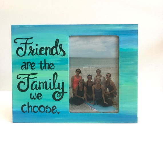 Personalized Friend Picture Frame Custom Photo Frame With Etsy