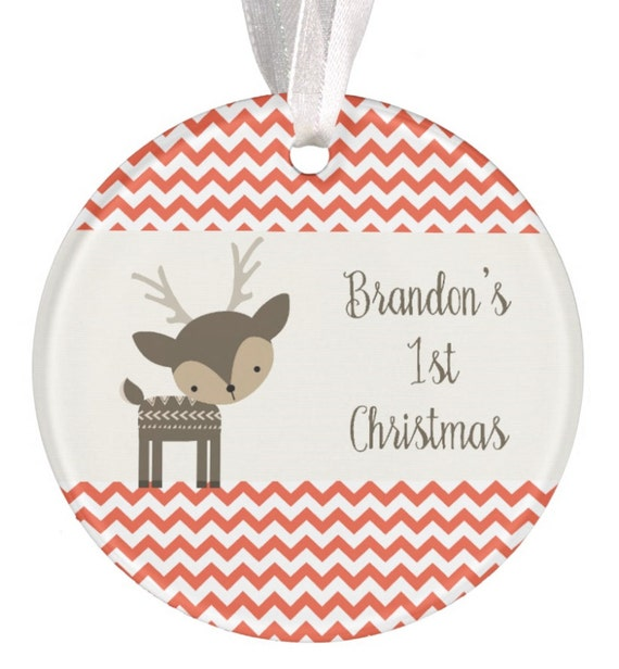 Baptism Ornament Christmas Ornament By Ryellecreations On Etsy: Christmas Ornament Personalized Baby Christmas Ornament