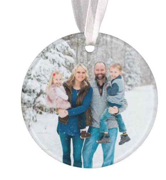 Baptism Ornament Christmas Ornament By Ryellecreations On Etsy: Family Christmas Ornament Photo Ornament Picture Ornament