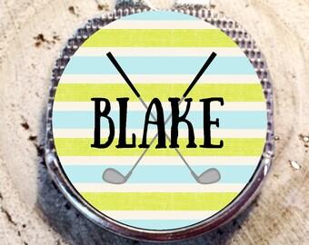 Golf Ball Marker, Golf Marker, Golf Divot Tool, Divot Tool, Ball Marker, Personalized Golf Ball Marker,Groom Gift, Groomsmen Gift