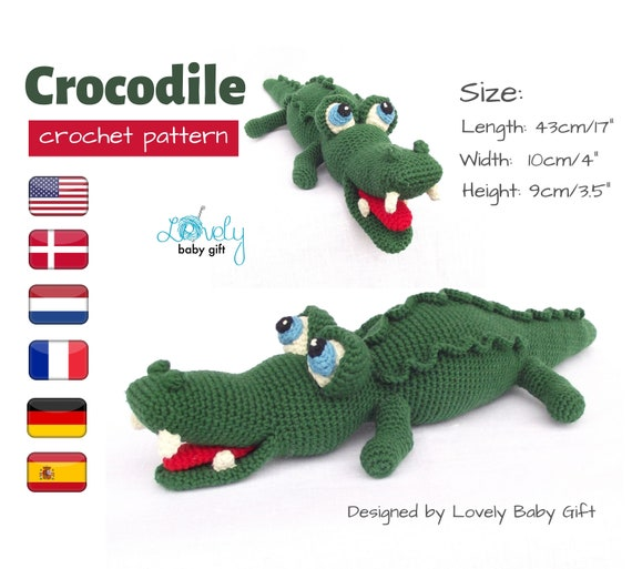 Alligator pillow   Etsy