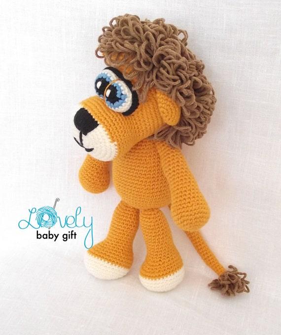 Amigurumi Pattern Crochet Animal Pattern Lion Amigurumi Etsy