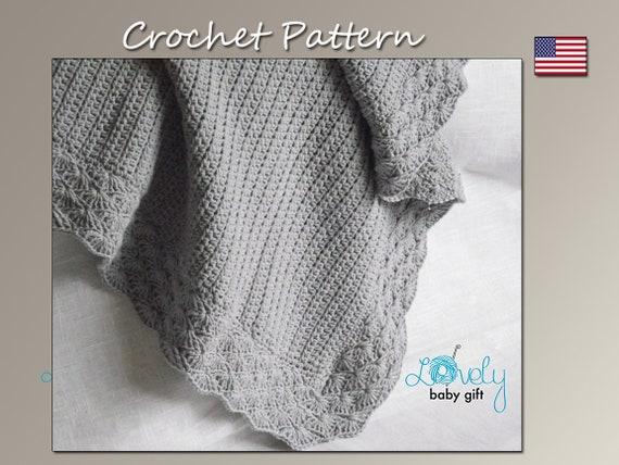 Crochet Baby Blanket Pattern Baby Afghan Crochet Pattern Etsy