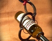 Items Similar To Wine Bottle Holding Horseshoe Cowboy On Etsy