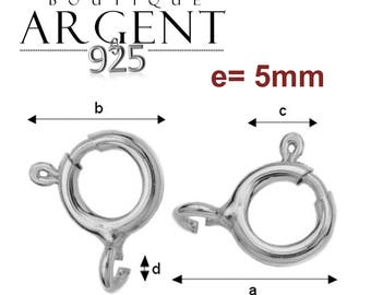 "Set of 8 clasps in silver Sterling marked ""925"" on the side"