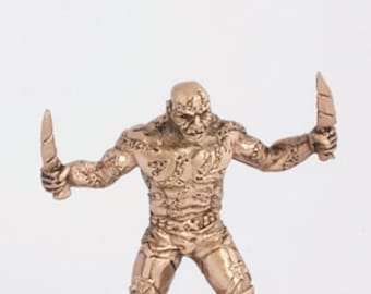40mm Drax the Destroyer, Guardians of the Galaxy brass miniature