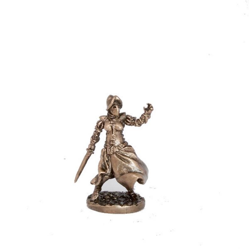40mm Soulcatcher, The Black Company brass miniature