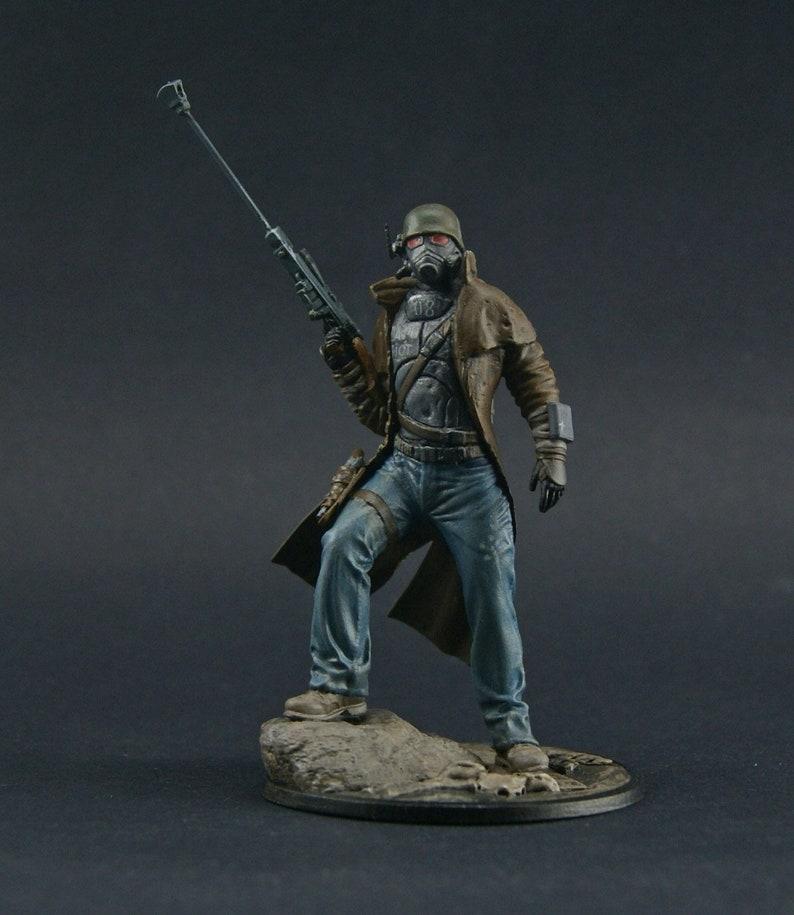 NCR Sniper Ranger Fallout New Vegas resin figure
