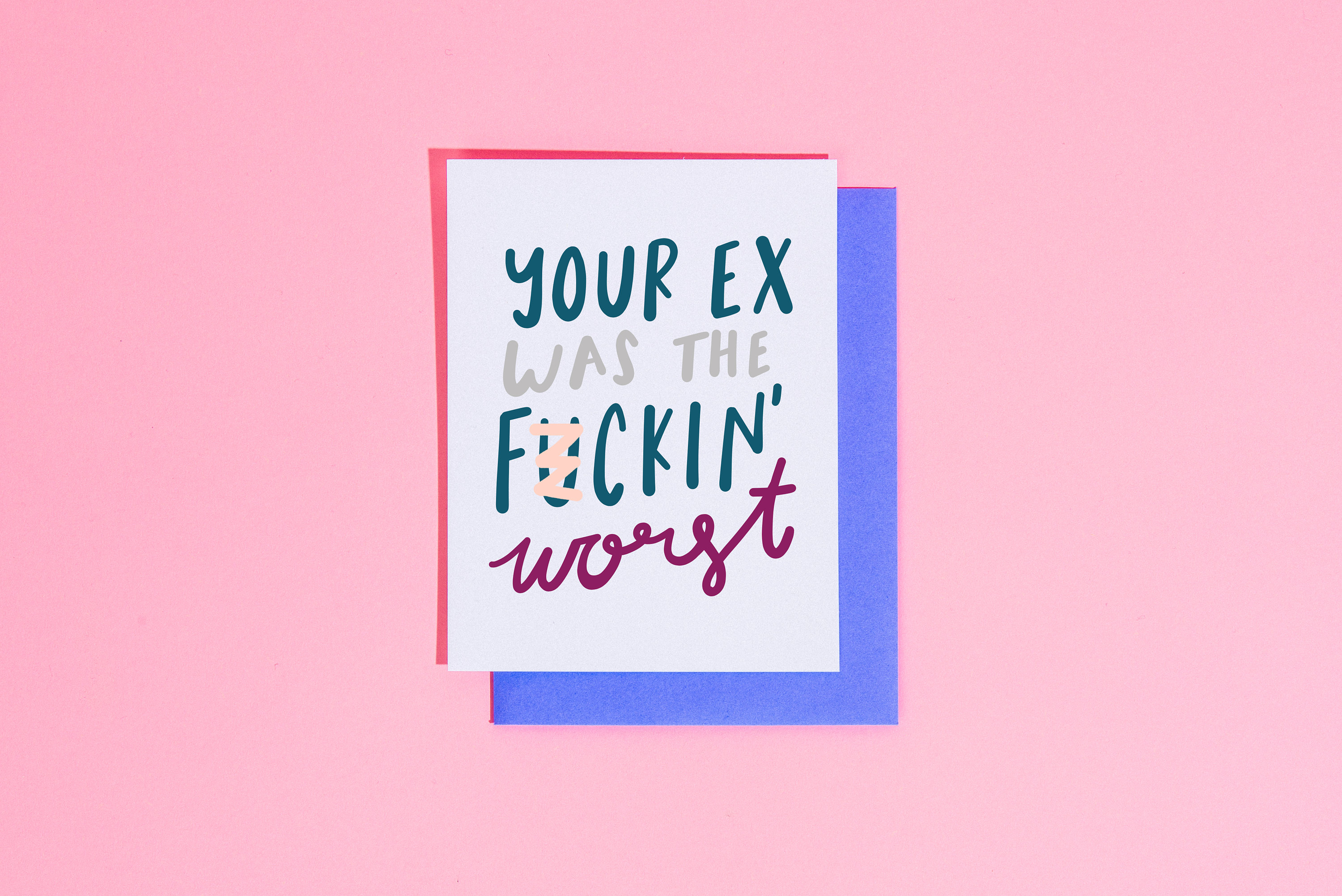 Your Ex Was The Fuckin Worst Card Adult Greeting For Etsy