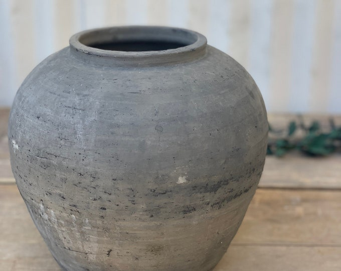 Featured listing image: Vintage Black Grey Pottery