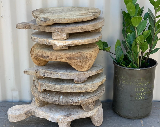 Featured listing image: Rustic Wooden Chapati Riser (Free Shipping)