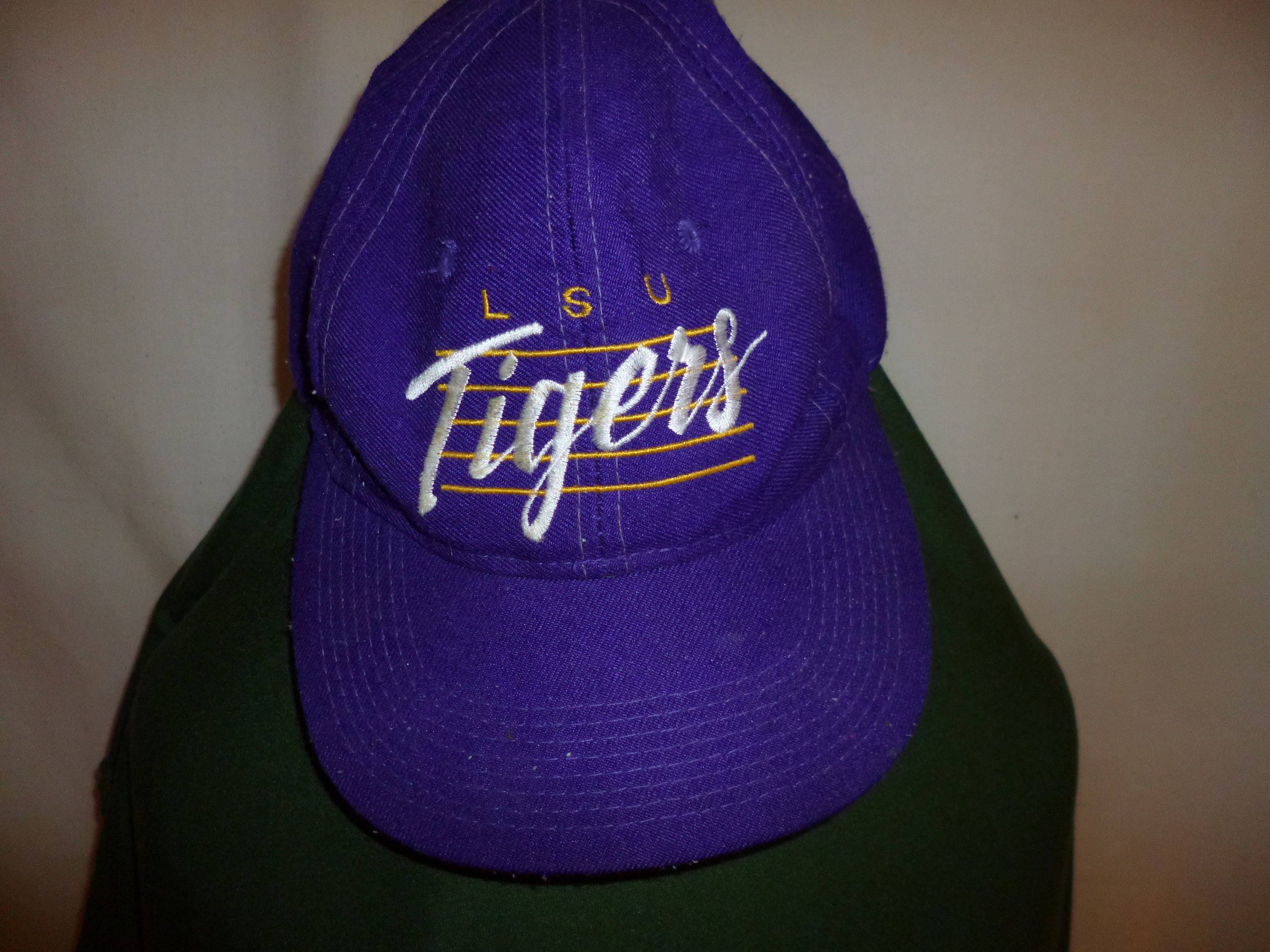 f292b1427dd6a ... authentic vintage lsu tigers snapback ballcap hat louisiana state  university free shipping a95a2 583c8