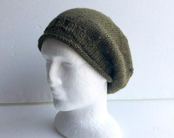 Slouchy women beanie, knit beanie, knit wool hat, women beanie, Christmas gift for women, wife, mum, sister, birthday gift