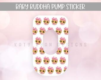 Custom Baby Face Baby Buddha Pump Sticker - Custom Baby Face - Baby Buddha Sticker - Exclusive Pumping Sticker - Baby Buddha Skin