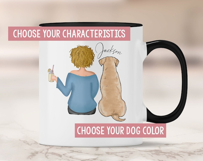 Labrador Retriever Mom  Mug - Lab Gift - Labrador Lover - Yellow Lab - Chocolate Lab - Black Lab Gift Ideas - Lab Mom - Labrador Gift