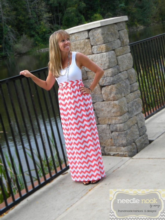 The PLUS SIZE Maxi-Tank Dress -- Women\'s Maxi Dress -- Jersey Cotton Knit  Dress -- You Design -- Custom Made to Measure