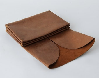 f6bd6cfc8c72 origami wallet - Large Natural leather