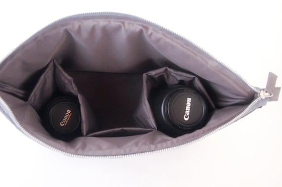 Dslr Camera Bag Insert Camera Bag Camera Case Camera Etsy