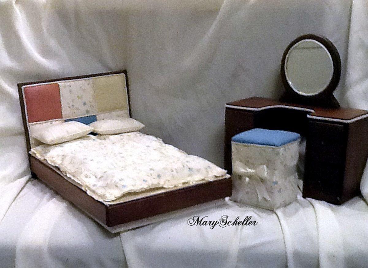 Sale modern bedroom set for barbie blythe monster high liv - Contemporary bedroom sets for sale ...