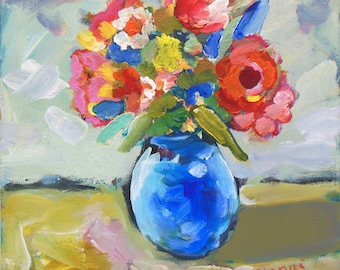 Original Artwork Spring Colours PAinting from Gianni