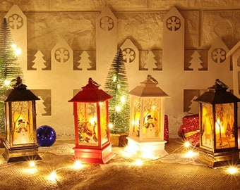Christmas Lanterns.Christmas Lanterns Etsy