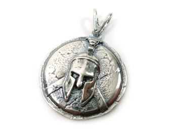 Sold to the unit. Gunmetal alloy gladiator helmet beads with 11mm zircon