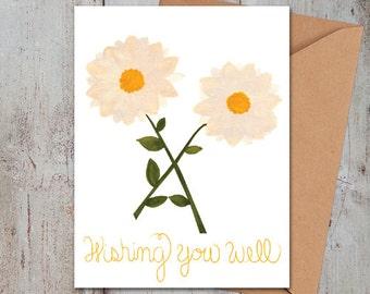 Wishing You Well Card