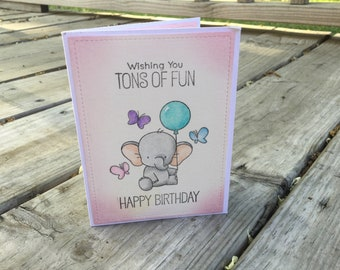 Greeting Card, Birthday Card, Blank Card