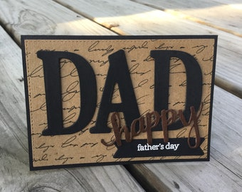 Father's Day Card, Blank Card, Greeting Card, Gift For Him