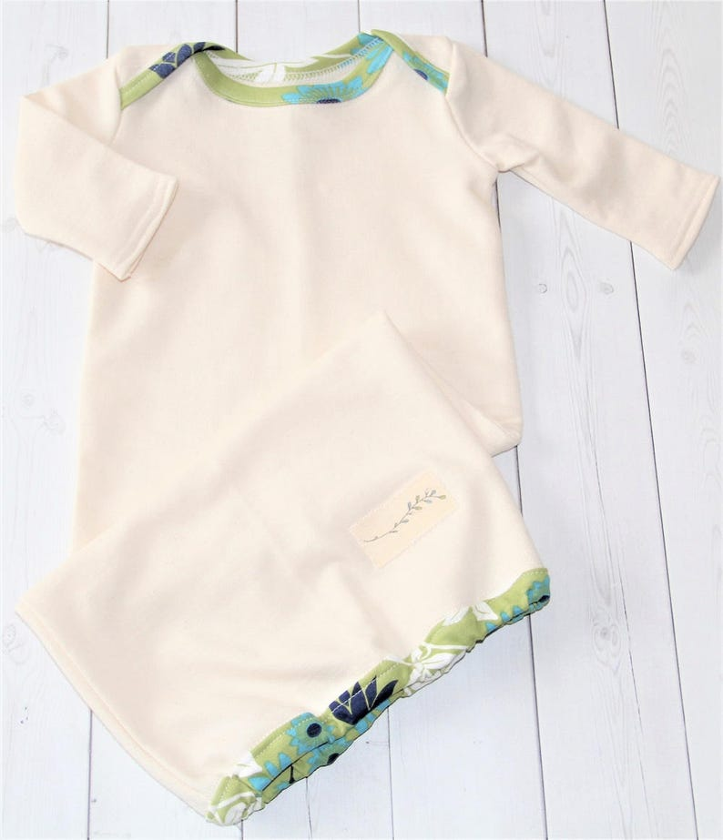 d669d1063 Infant Sleeping Gown Organic Cotton Baby Clothes Infant