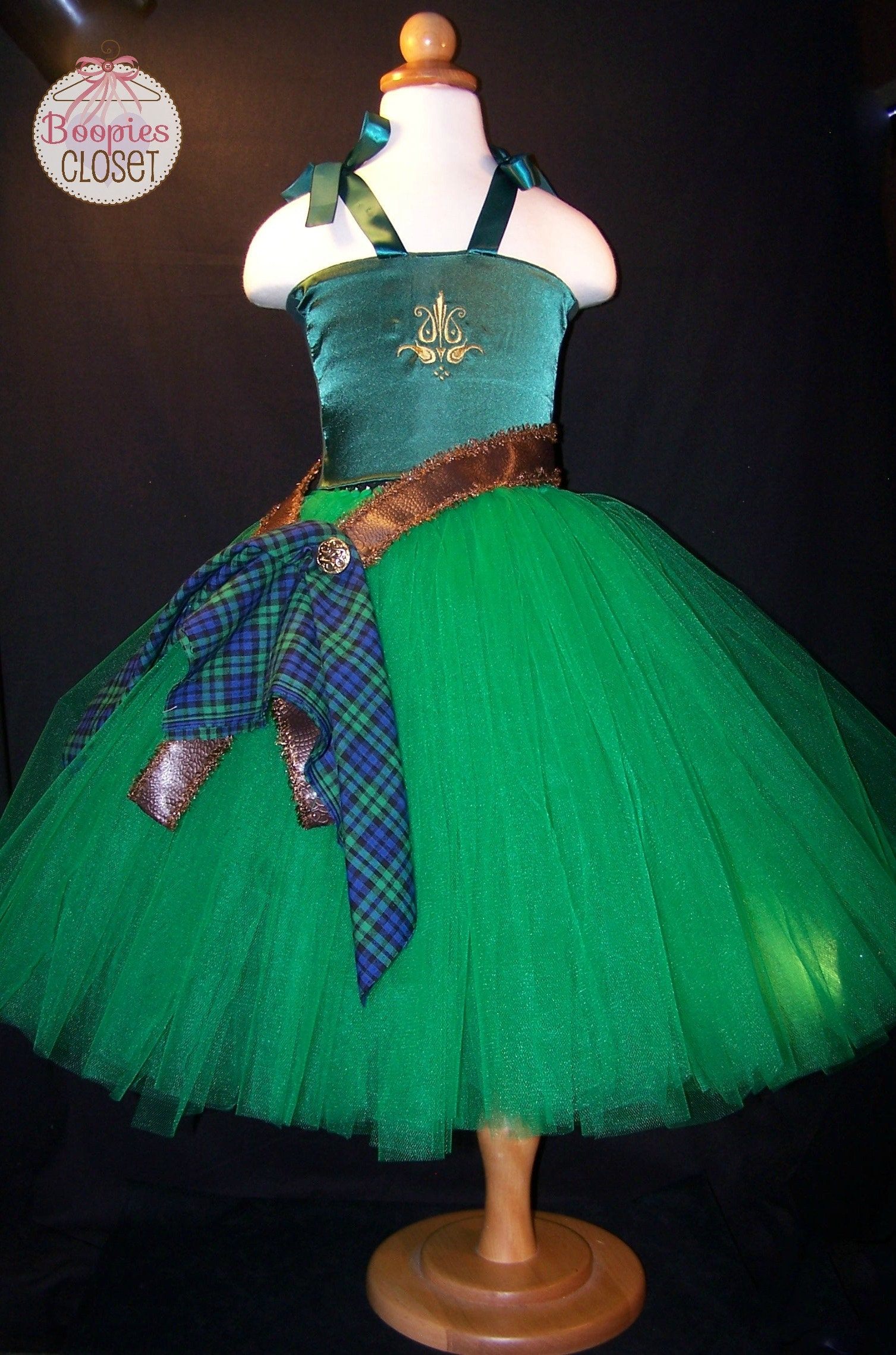 The Ultimate Scottish Princess Tulle Gown, Merida Brave Tutu Gown ...