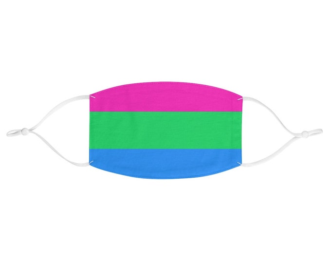 PRIDE FLAG Face Mask - Polysexual