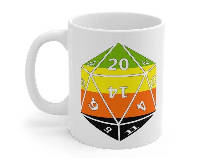 AROMANTIC d20 Mug