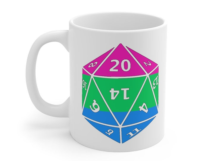 POLYSEXUAL d20 Mug