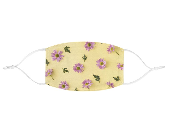 Fabric Face Mask - Pastel Daisies