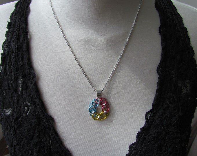 Helm's Circle Pride Pendants - PANSEXUAL