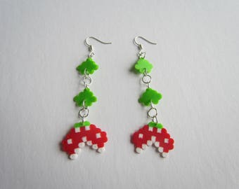 Dangly Super Mario Piranha Plant Earrings