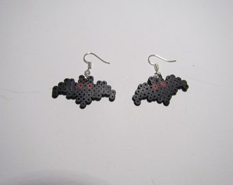 Mini Perler Mothman Earrings