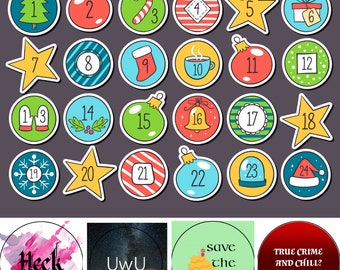 PREODER: Button Advent Calendar
