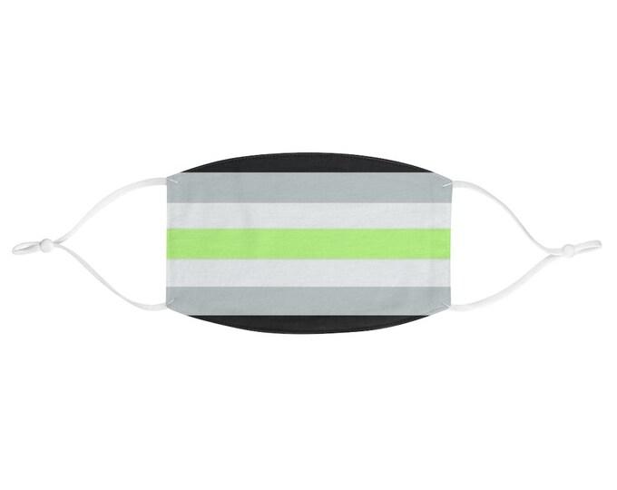 PRIDE FLAG Face Mask - Agender