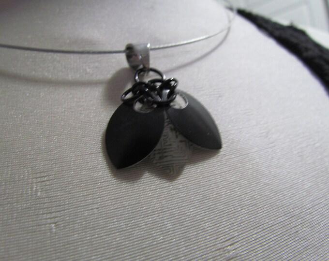 Lightning Bug Pendant (Black/Circuits)