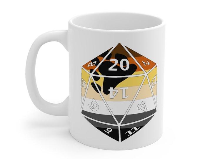 BEAR d20 Mug