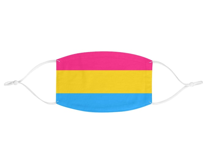 PRIDE FLAG Face Mask - Pansexual