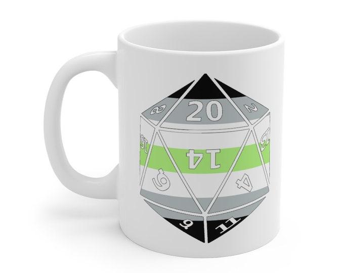 AGENDER d20 Mug