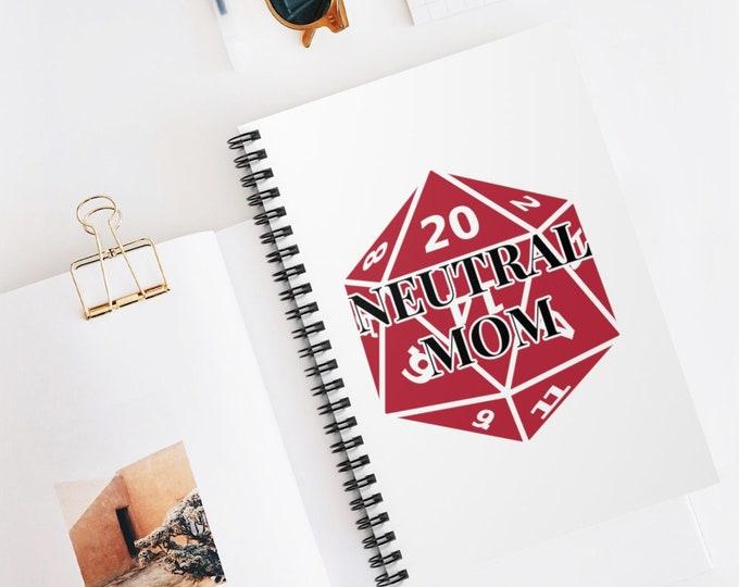 NEUTRAL MOM Spiral Bound Notebook