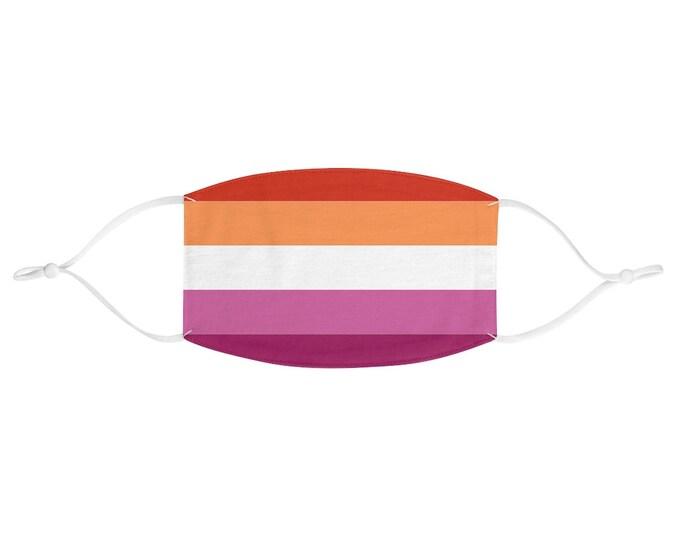 PRIDE FLAG Face Mask - Lesbian
